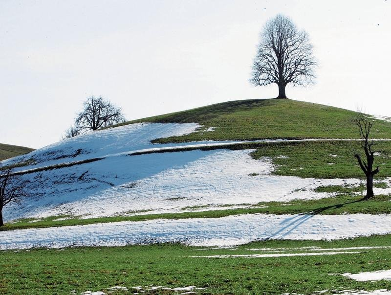 Die Moränenlandschaft Menzingens ist von Gletschern geformt worden. (Bild Werner Schelbert)