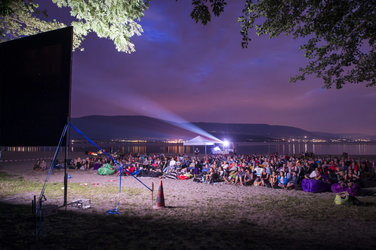 Cinéma Open Air à Yvonand VD (© Roadmovie / Photo Ruedi Flück)