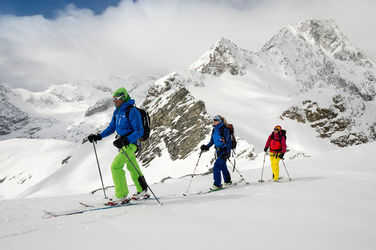 Mountain guides offer specialist expertise on snow and ice – including with off-piste skiing, too.