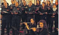 Der Chor und die Instrumentalisten harmonierten perfekt. Bild Katharina Gresch