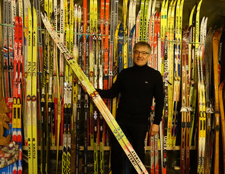 Sur les traces du ski nordique... (Laurent Donzé)