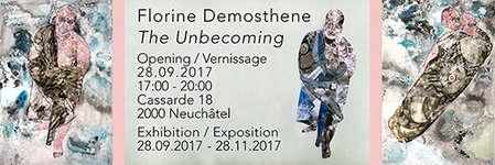 Exposition : Florine Demosthene