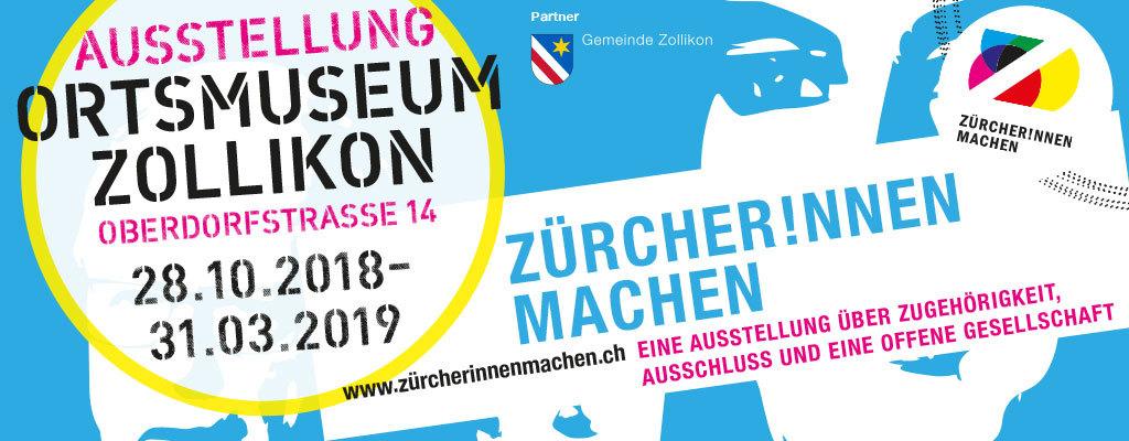 Zürcher!nnen machen - Eine Ausstellung über Zugehörigkeit, Ausschluss und eine offene Gesellschaft
