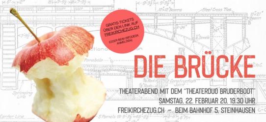 """Flyer """"Die Brücke"""""""