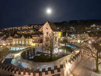Burg by Night