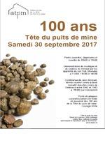 100 ans - Tête du puits de mine
