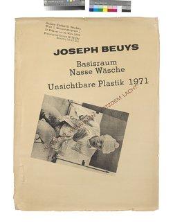 Joseph_Beuys_Plakat zur Ausstellung Jungfrau – Nasse Wäsche in der Galerie nächst St. Stephan_1978_Sammlung Hummel Wien