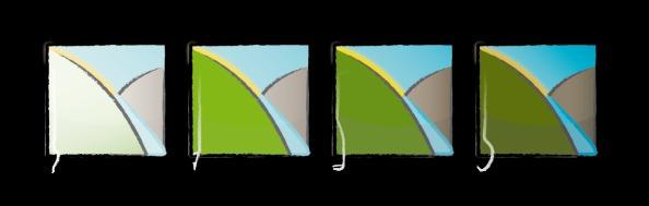 Logo, Chrattegrabe Emmental 4saisons