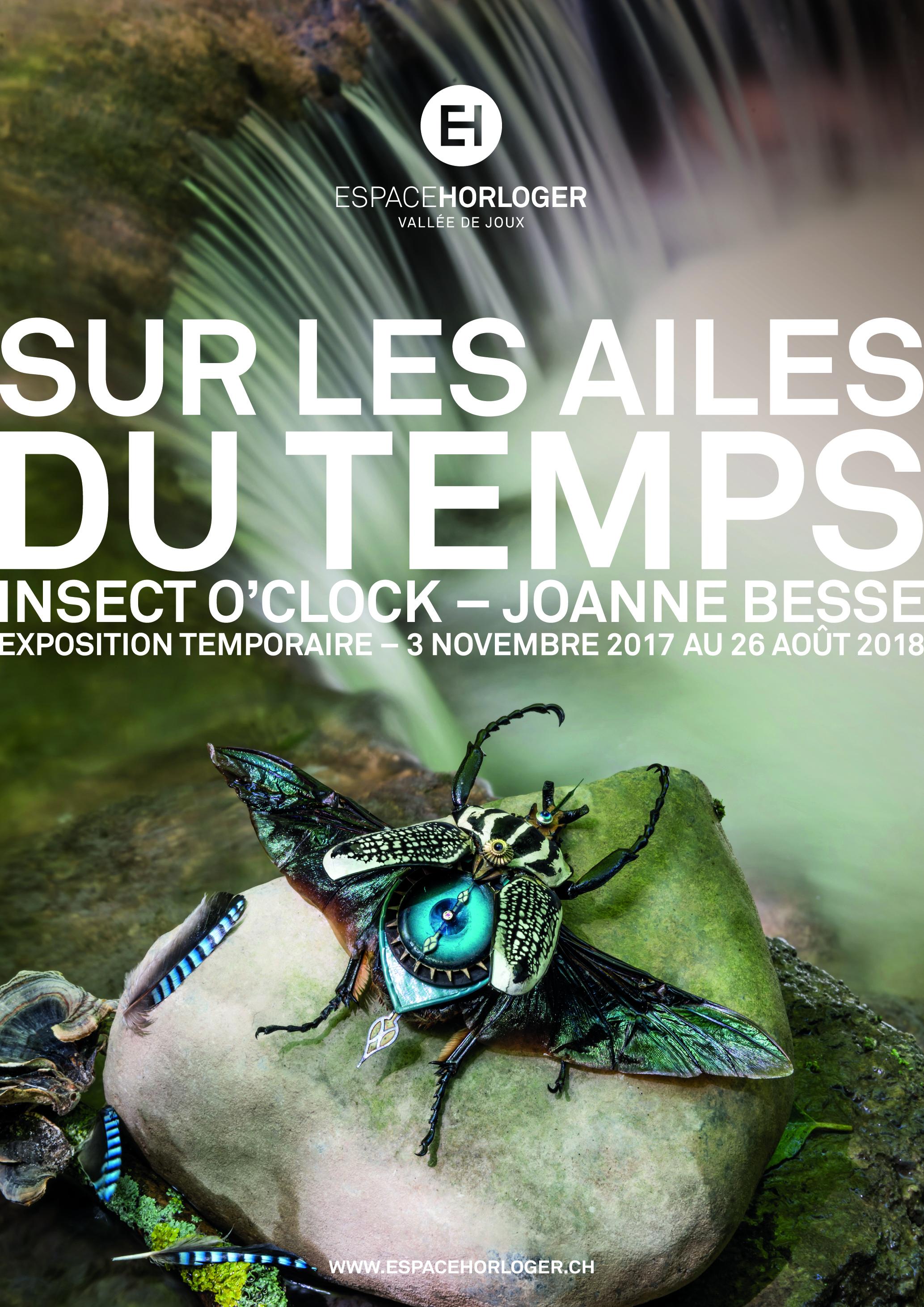 Sur les Ailes du temps. Insect O'clock