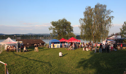 Music und Food am See - was wotsch no meh?