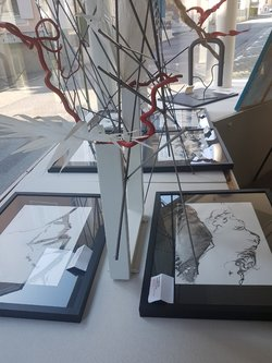 Bilderausstellung - Berggesichter und moderne Kunst - 1