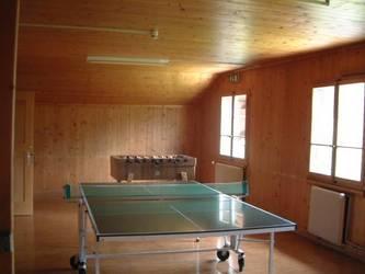 der Ping Pong Tisch