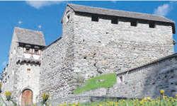 Burgen faszinieren auch heute noch. Felix Nöthiger rekonstruierte diese Burg in Zillis und gründete die Organisation Pro Castellis. Bild zvg