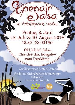 Openair Salsa im Stadtpark Uster - 1
