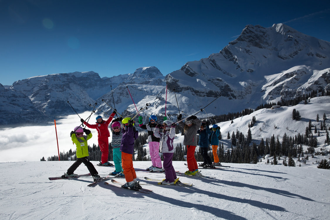 Skifahren Braunwald ©Silvia Blatter