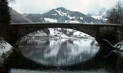 Die heutige Schrähbachbrücke. (Bild Christoph Dettling/pd)