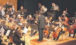 Beim «Radetzky-Marsch» hatten die Hornisten einen speziellen Part und das mit sehr viel Schwung. Bild Lilo Etter