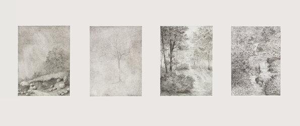 Fritz Guggisberg - Zeichnungen und Ölbilder - 1