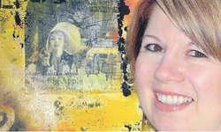 Die junge Dübendorfer Künstlerin Bettina Franz arbeitet vorwiegend mit den Farben Rot und Gelb