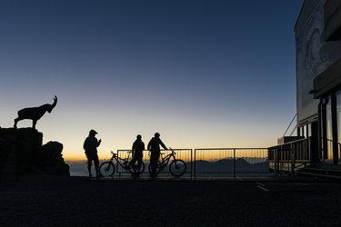 Piz Nair Sunrise - 1