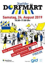 Dietliker Dorfmärt und PIAZZA 2019