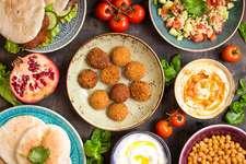 Libanesisches Abend-Buffet
