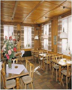 Restaurant Schwarzwasserbrücke: Ambiente