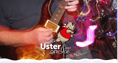Rock on Ice - Open Air Konzert bei Uster on Ice