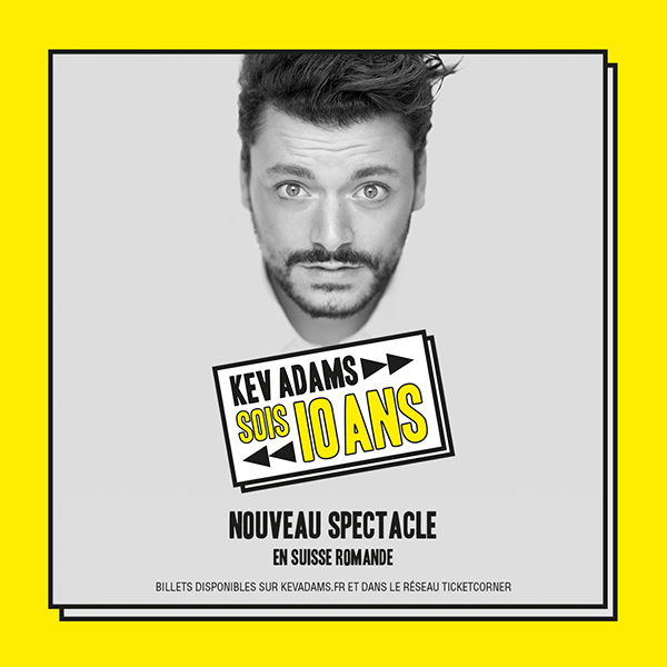 KEV ADAMS - French humorist
