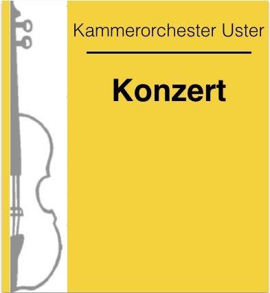 Abschlusskonzert des Kammerorchesters Uster mit Benno Huber