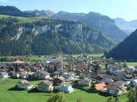 Dorf Unteriberg