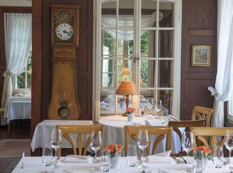 © Romantik Hotel Sternen: Restaurant Gartenzimmer