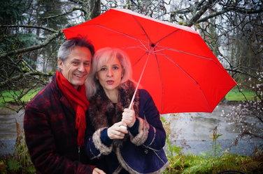 Letizia Fiorenza und David Sautter in der Villa am Aabach