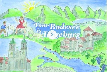 Vom Bodesee is Toggeburg inkl. Liechtenstein