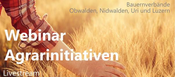 Webinar zu den extremen Agrar-Initiativen 2xNein