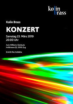 Flyer Kolin Brass 23.03.2019