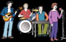 Musik-Bänd