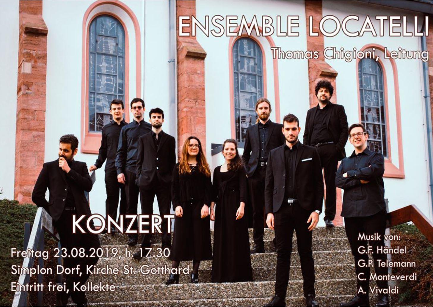 Konzert - Ensemble Locatelli