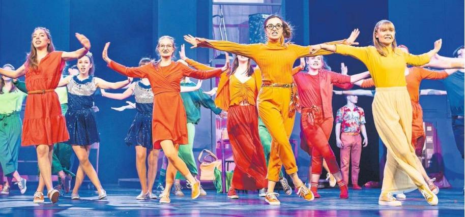 Voicesteps inszenieren «High School Musical» im Theater Casino. (Bild Patrick Hürlimann)