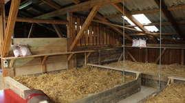Bauernhof Waser: Schlafen im Stroh
