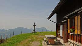 Alp Hochweid: Chambre familiale 1