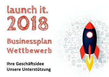 Businessplan Wettbewerb 2018 - Preisverleihung «launch it» 2018