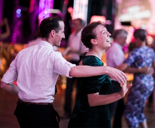 Lindy Hop Dance Party ! With The Hop Sh Bam Connection - 1