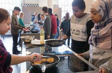 Kochworkshop mit Schulklasse