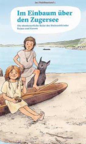 Das Büchlein erzählt unter anderem die Geschichte zweier Steinzeitkinder. (Bild: PD)