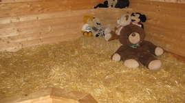 Erlebnisbauernhof Weid: Schlafen im Stroh