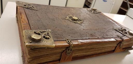Landsbuch aus dem 15. Jahrhundert