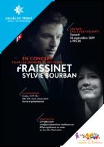 Fraissinet et Sylvie Bourban en concert