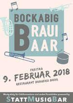 Bockabig Braui Baar für Chliiformazione und anderi Fasnächtler