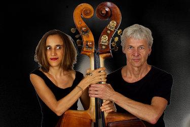 Herbert Kramis und Jojo Kunz - zweimal Kontrabass